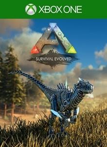 ARK: Survival Evolved Bionic Raptor Skin