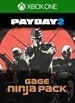 PAYDAY 2: CRIMEWAVE EDITION - The Gage Ninja Pack