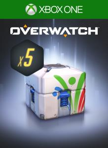 Overwatch - 5 Summer Games Loot Boxes