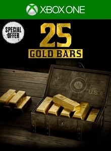 One Time Special Offer: 25 Gold Bars