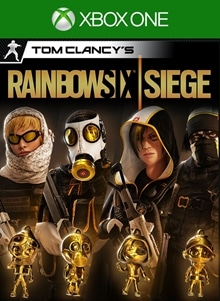 Tom Clancy's Rainbow Six Siege: Pro League All Gold Sets