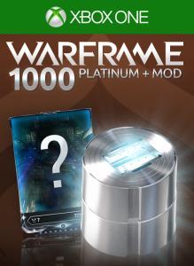 Warframe: 1000 Platinum + Mod