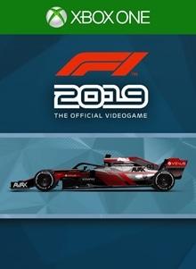 F1® 2019: Car Livery 'AVAX - Pinstripe'