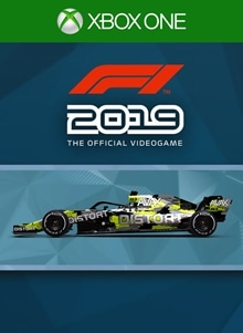 F1® 2019: Car Livery 'DISTORT - Interference'