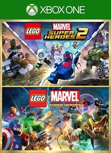 Lego Marvel Super Heroes Deluxe Bundle On Xbox One