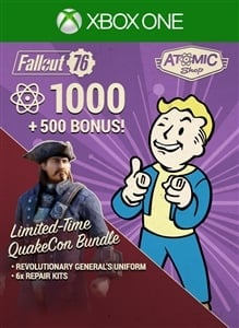 Fallout 76: QuakeCon Atom Bundle
