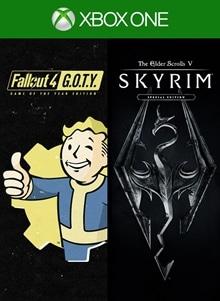 Skyrim Special Edition + Fallout 4 G.O.T.Y Bundle