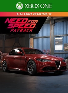 Need For Speed Payback Alfa Romeo Quadrifoglio On Xbox One