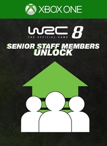WRC 8 - Senior Staff Members Unlock