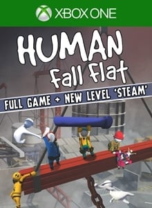 Human: Fall Flat + Steam Level