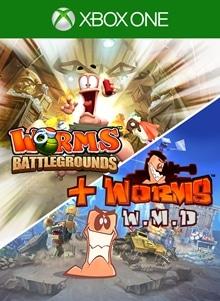 Worms Battlegrounds + Worms W.M.D