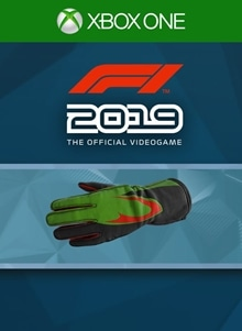 F1® 2019: Gloves 'Green Waves'