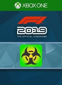 F1® 2019: Badge 'Hazard'