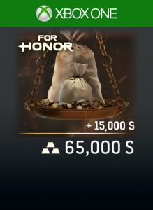 FOR HONOR 65 000 STEEL Credits Pack