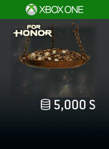 FOR HONOR 5 000 STEEL Credits Pack