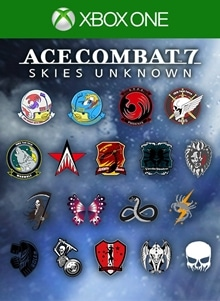 ACE COMBAT™ 7: SKIES UNKNOWN - 25th Anniversary Emblem Set