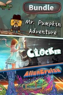 Clocker & Mr. Pumpkin Adventure & Alien Cruise Bundle