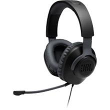 JBL Quantum 100 Wired On-Ear Headphones