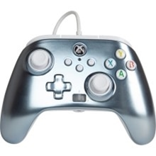 PowerA Enhanced Wired Controller for Xbox - Metallic Ice