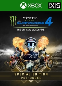 Monster Energy Supercross 4 - Special Edition - Xbox Series X|S - Pre-order