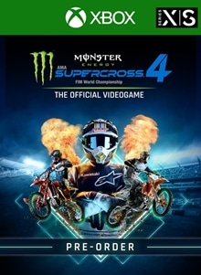 Monster Energy Supercross 4 - Xbox Series X|S - Pre-order
