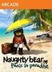 Naughty Bear Panic in Paradise - Ghostfacebear Costume
