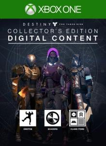 Destiny: The Taken King - Collector's Edition Digital Content