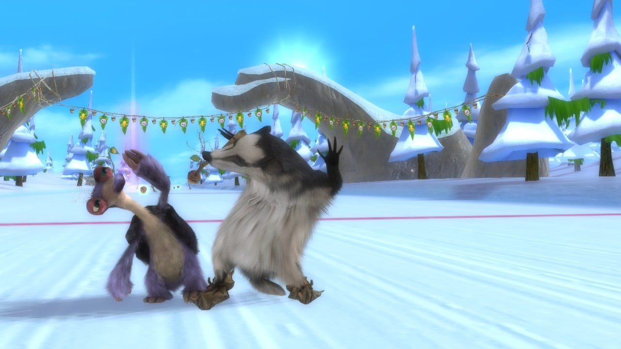 ice age: continental drift - arctic games screens