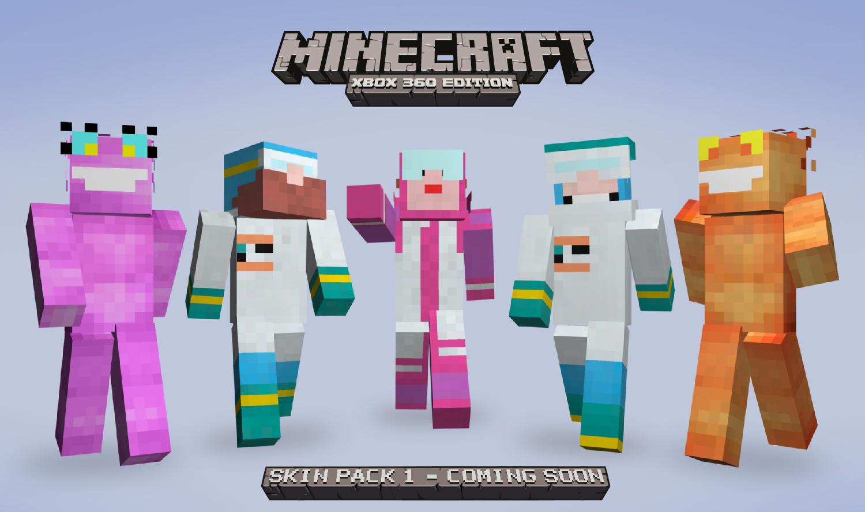 Full List for Minecraft Xbox 360 Skin Pack  1Xbox 360 Minecraft Skins