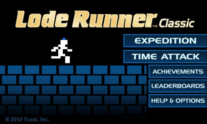 Lode Runner Classic on Windows Phone