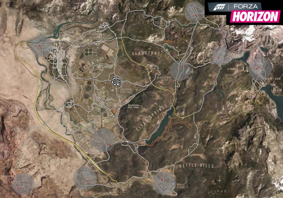 Locations for all Barn Finds in Forza Horizon.