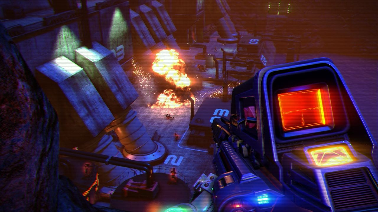 Far Cry 3 Blood Dragon Gameplay And Screenshots
