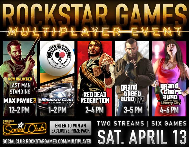 Rockstar MP event 4/12