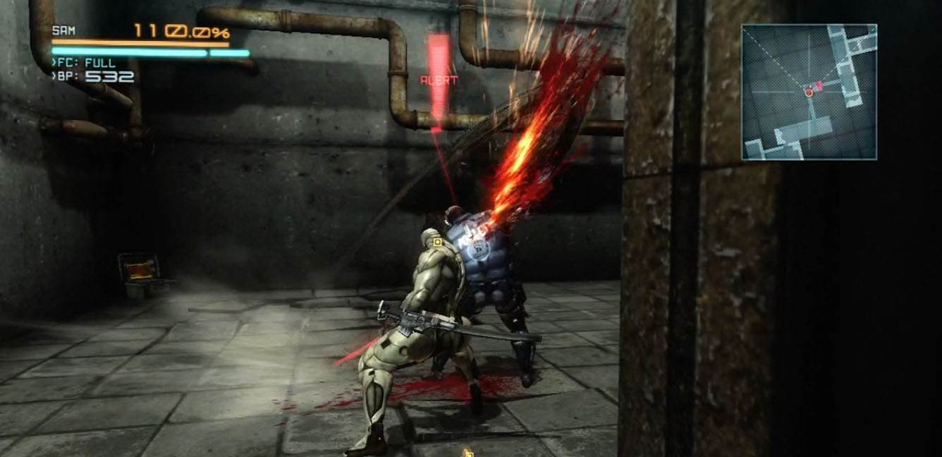 Metal Gear Rising Revengeance Walkthrough - Vr missions in this dlc can only be played directly from the console on the ground they are not available remotely so make sure to check it out while
