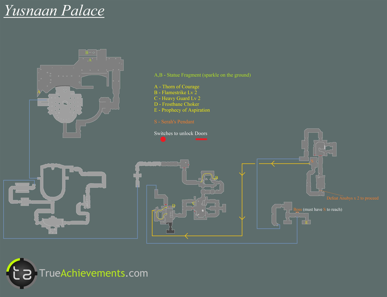 Treasures in Yusnaan - Patronu0027s Palace & Lightning Returns: Final Fantasy XIII Walkthrough - Page 5