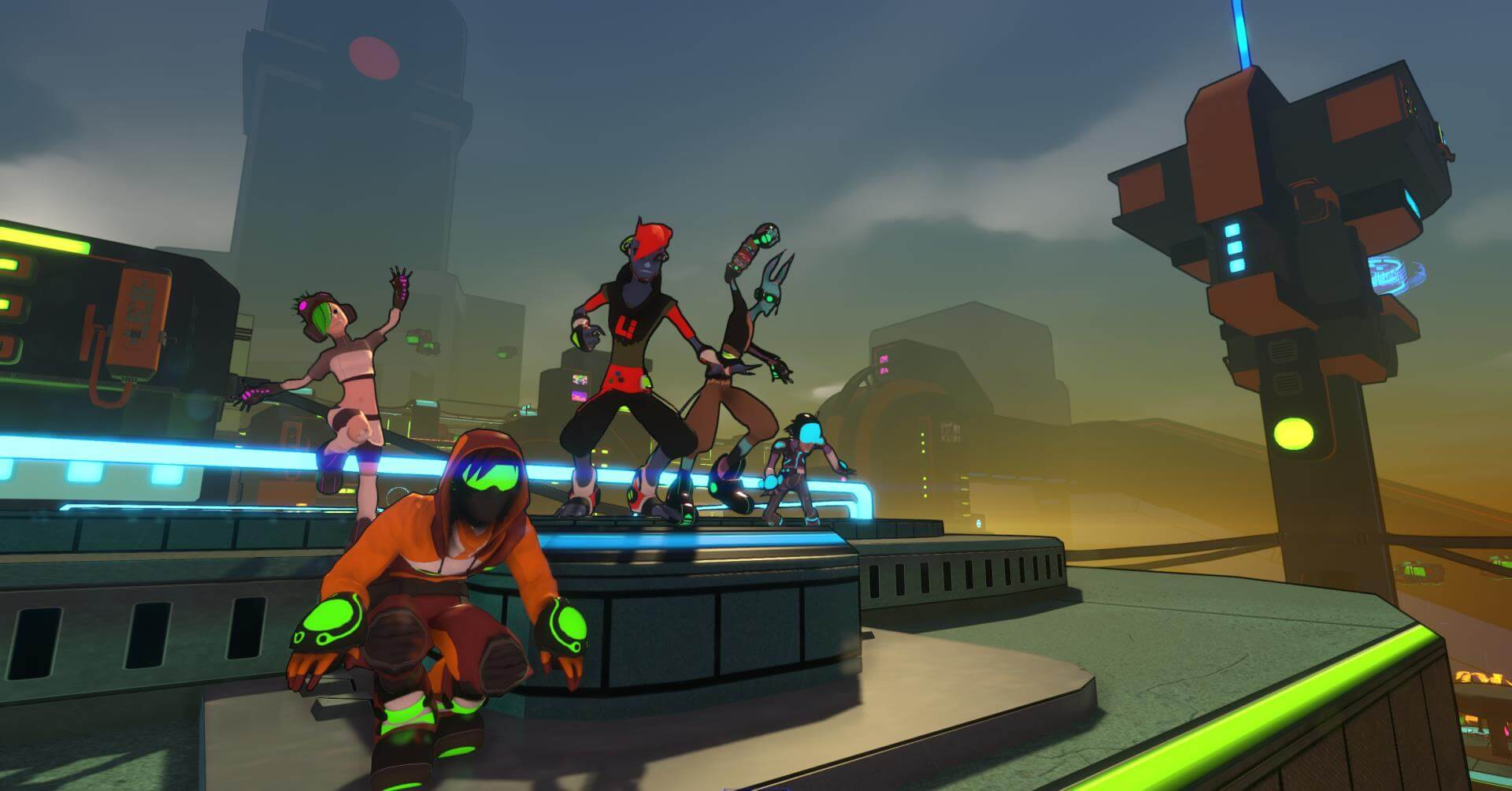 Hover: Revolt of Gamers Screens & New Trailer
