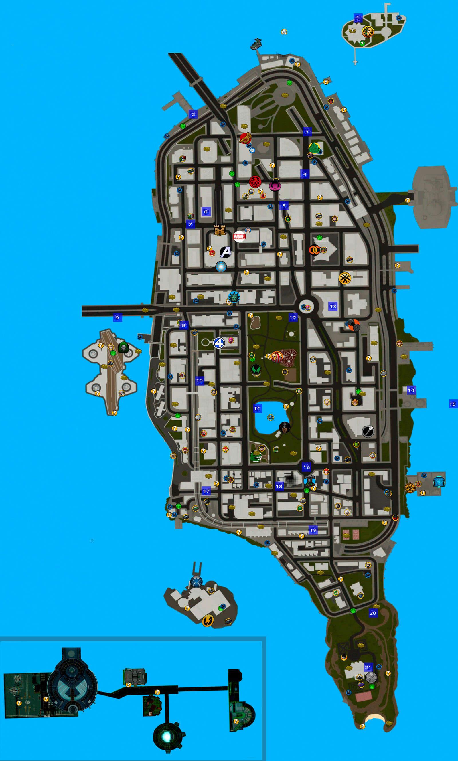 Races Map
