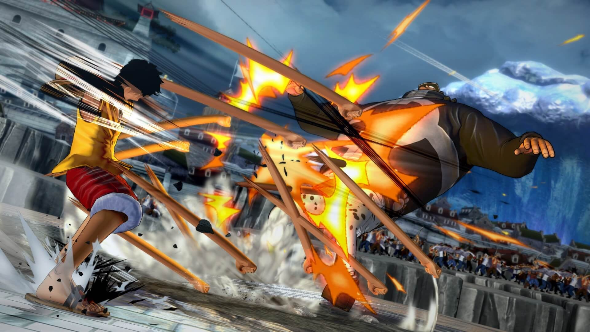 One Piece Burning Blood Shows Off More Gameplay Tag Combo System Sony Ps4 Releases May 31st