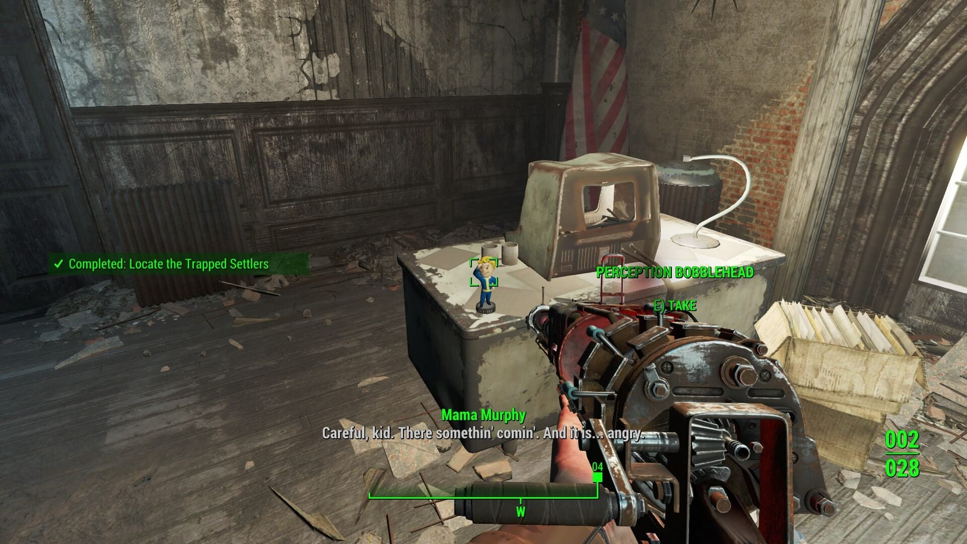 Perception Bobblehead. Credit to Fallout Wikia for the image.