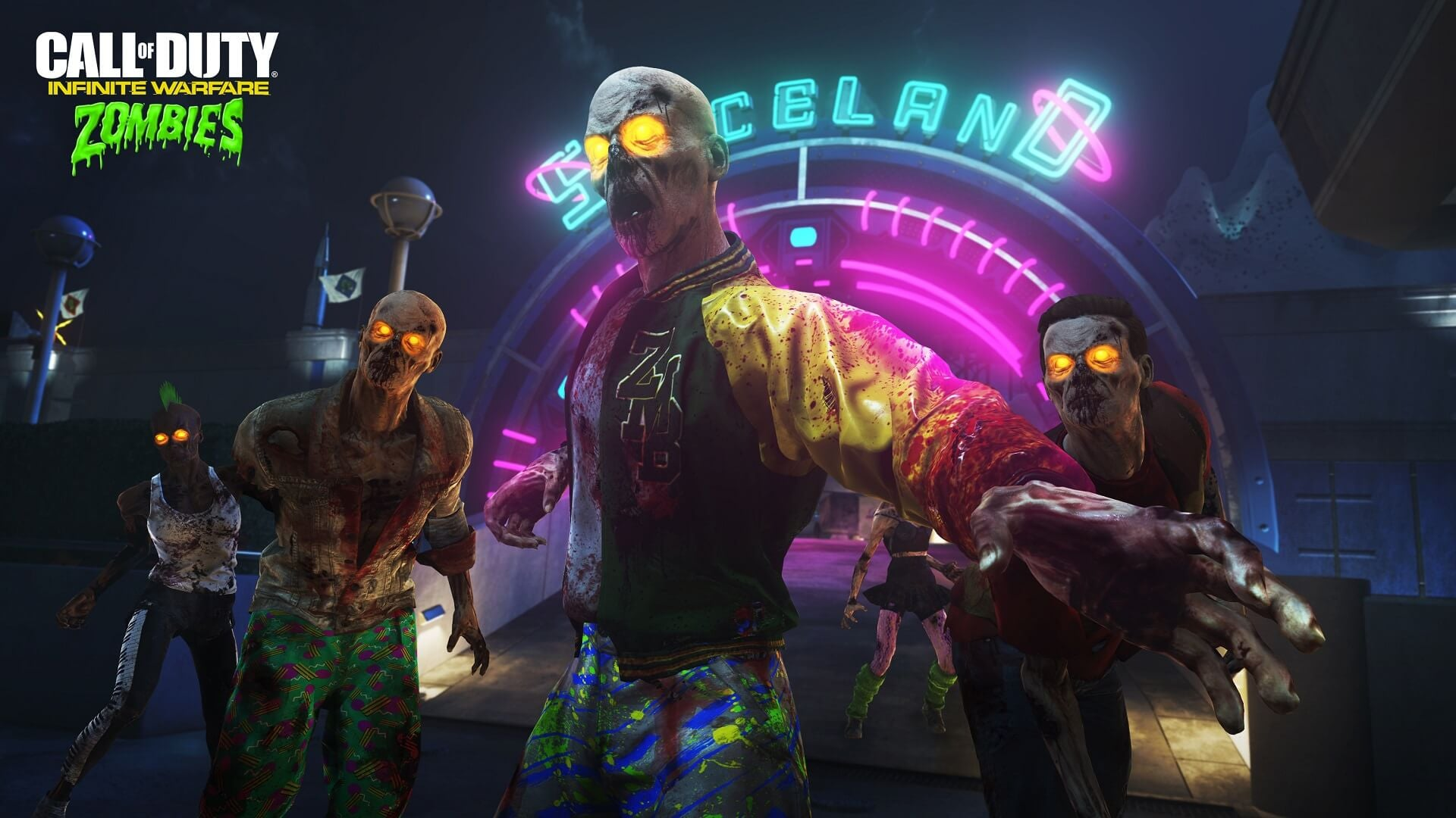 Call of Duty: Infinite Warfare Premieres Zombies in Spaceland