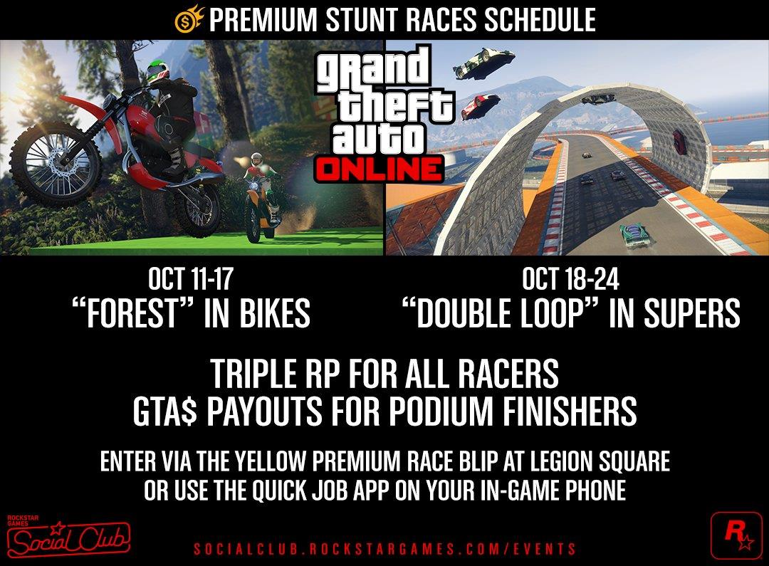 GTA Online's Bikers Bonus Event Brings Double GTA$ & RP