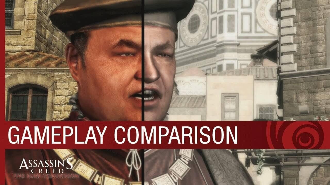 Assassin S Creed The Ezio Collection Graphics Comparison Video