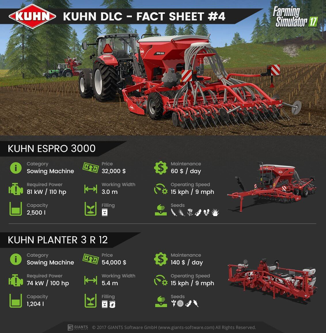 Farming Simulator 17's KUHN DLC Teased