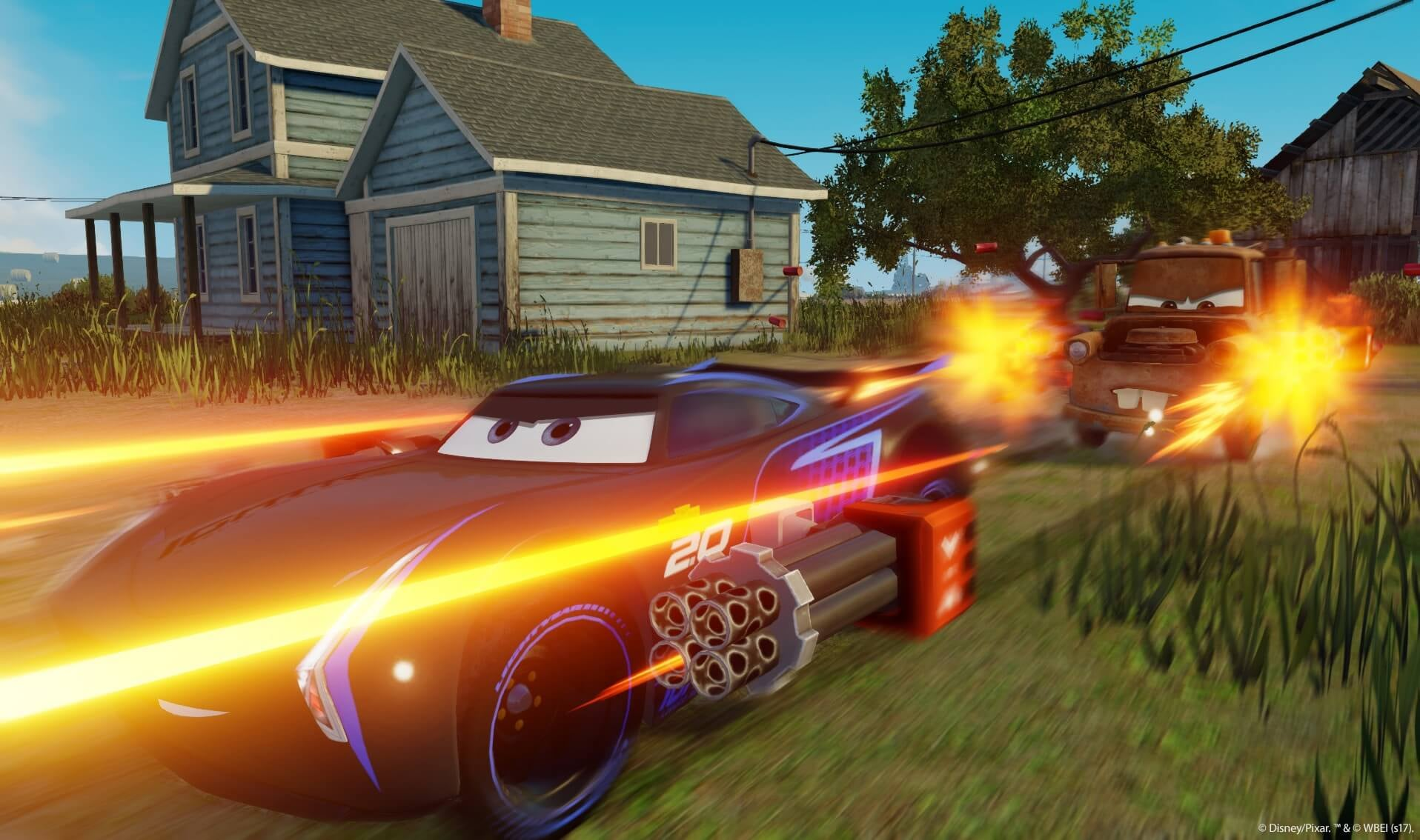 Cars 3 Driven To Win Announced