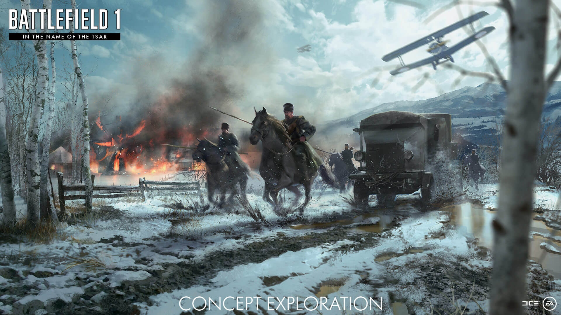 Dice Shows More Concept Art From Battlefield 1 S In The Name Of