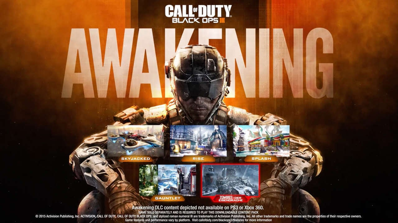 Call of Duty Black Ops III Awakening Free DLC Weekend