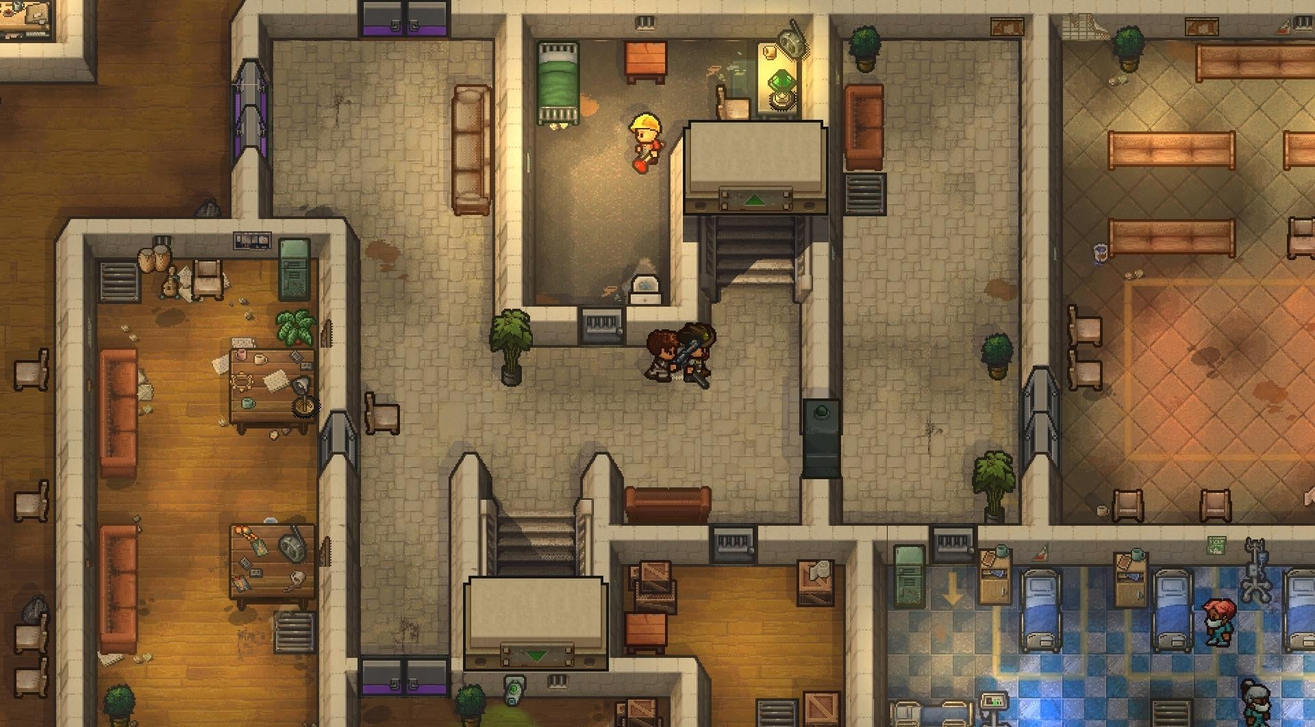 The Escapists 2 Rattlesnake Springs screens