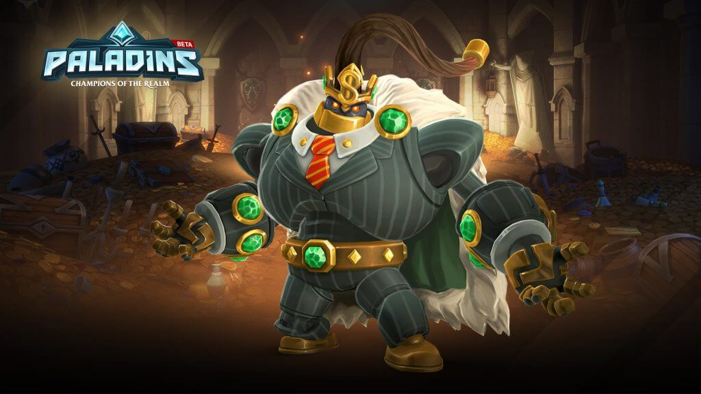 Try All Champions Free in Paladins This Weekend Plus Account Copy
