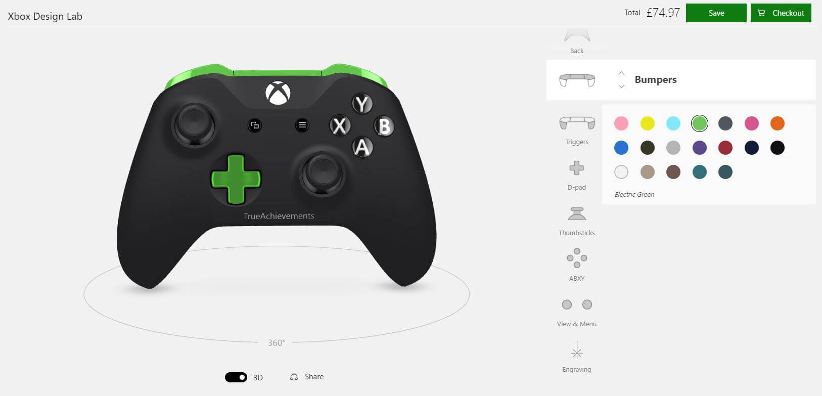 Xbox Design Lab Adds New Customization Options, Available the UK