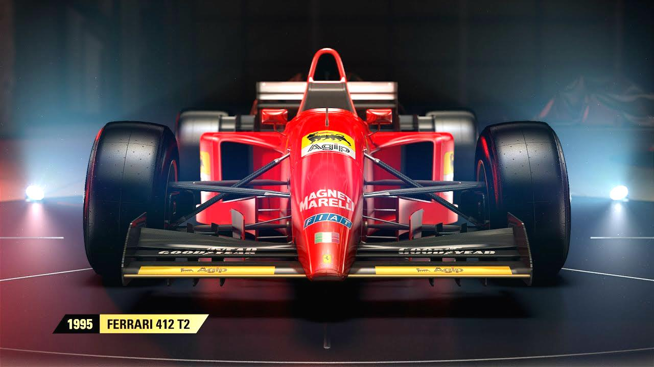 F1 2017 Reveals Scuderia Ferrari as the Next Classic Car